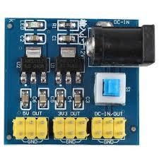 DC-DC 12V to 3.3V Power Module 3.3V 5V 12V Multi Output Voltage Conversion FO